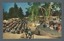 Postcard The Wagon Camp, Knott's Berry Farm, Ghost Town, Calif.