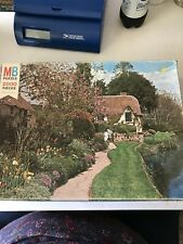 2000 Pc Puzzle Magnum Thatched Cottage By Milton Bradley 1975