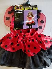 Totally Ghoul LadyBug  Child Costume Outfit Toddler M 6-8 NIP