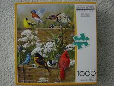 Hautman Brothers Songbird Menagerie flowers,birds 1000 piece jigsaw puzzle New