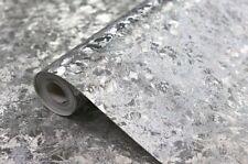 Arthouse Velvet Crush Foil Silver Sparkle Shine Wallpaper 294301.
