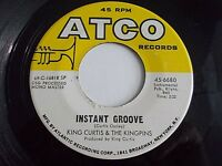 King Curtis & The Kingpins Instant Groove / Sweet Inspiration 45 Vinyl Record