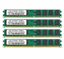 NEW 8GB 4X 2GB 2G RAM DDR2-533 MHz PC2-4200U 240PIN DIMM intel Desktop memory #3