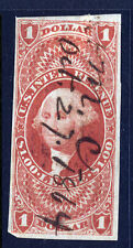 R70a, $1.00 Lease, imperforate 1st issue Revenue