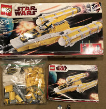 Lego Star Wars 8037 Anakin's Y Wing Starfighter Used.  Missing One Minifigure.