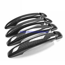 For Audi A4 A4L A5 Q3 Q5 A1 S3 S4 S5 SQ5 8pcs Carbon Fiber Door Handle Cover