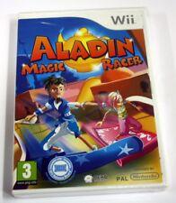 JEU Nintendo WII Aladin magic racer (compatible balance board)   neuf