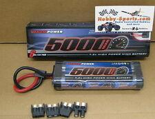 Venom 7.2V 5000mah NiMH Battery 4 Plugs Tamiya Traxxas Deans EC3 VNR1548