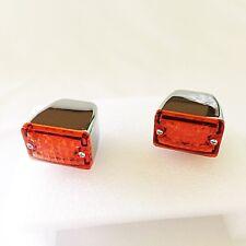 1 Pair Hot Rod Amber Turn Signal Lights - Small LED