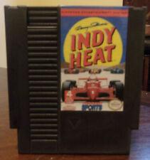 Danny Sullivan's Indy Heat (Nintendo NES) Reconditioned Authentic - Please Read