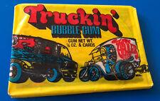 Vintage DONRUSS Truckin' Wax Pack - Unopened