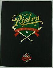 Vintage 1995 Cal Ripken Jr Orioles Baseball Official Commemorative Book