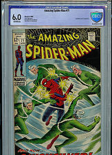 Amazing Spider-man #71 CBCS 6.0 FN Silver Age Marvel Comic Quicksilver Amricons