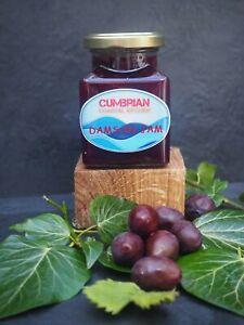 Homemade Damson Extra Jam made from home grown fruit, no preservatives. 225gms