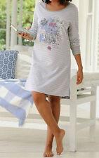Damen-Nachtwäsche mit Langarm-Pyjamaoberteil-Art im Nachthemden & -shirts-Stil