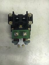 GE CR2810A14AA USED 2P 120V COIL N/O CONTACTORS SEE PICTURES #B15