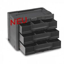 TANOS systainer® T-Loc SYS-Combi IV/3 anthrazit  80101821   mit 3 Schubladen