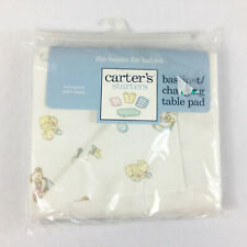 Carters Basinet Changing Table Pad New Cotton Bear Puppy Duck Waterproof