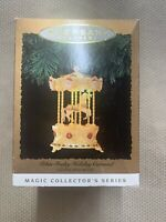 Hallmark Keepsake Ornament Tobin Fraley Holiday Carousel Lights And Music 1994