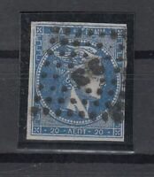 K3695/ GREECE – HERMES - MI # 13 I c USED CERTIFICATE – CV 550 $