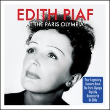 Edith Piaf - At The Paris Olympia - 4 Legendary Concerts 2CD NEW/SEALED