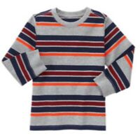 NWT Gymboree Toddler Boy 3T MIX 'N' MATCH 2016 Striped Shirt Top Tee NEW