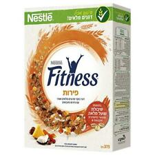 Fitness Cereals Flakes & Fruits  Kosher Whole Wheat  Breakfast Snack 375g
