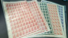 Russia - USSR - lot of 5 sheets - Never Used, 75