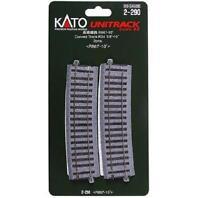 Kato 2-290 Rail Courbe / Curve Track R867 10° 2pcs - HO