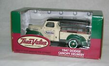 Ertl Collectibles 1947 Dodge Die Cast Metal True Value Hardware Canopy Delivery