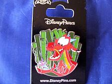 Disney * MUSHU DRAGON & CRICKEE * New on Card Mulan Characters Trading Pin
