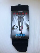 Falke Energizing Cotton-Mix Luxury Black Socks, RRP £24, UK:10-11, EU:45-46