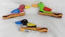 Duck Call-fait à la Main Bambou Duck Call/Hooter avec sculpté Duck-Loud-Neuf