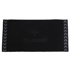 Hummel Old School Small Towel Handtuch Strandtuch 50x100 schwarz 025064 2001 WOW