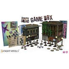 Knight Models DC Minis NUOVO CON SCATOLA SQUADRA suicida Game Box (inglese) ssgb 01 * PREORDINE *
