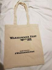 Games Workshop Warhammer Fest 2019 Limited Edition Event Only Bag New