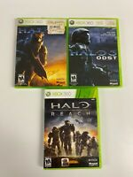 Halo 3 ODST Reach Xbox 360 Lot Quick Shipping !
