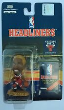 1996 NBA Dennis Rodman Chicago Bulls Blonde Hair Corinthian Headliners Figure