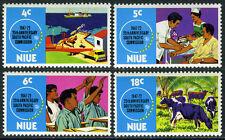 Niue 151-154,MI 128-131,MNH. So.Pacific Commission,25th ann. Health service,1972