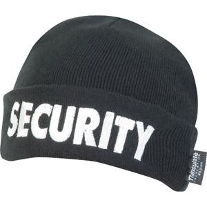 Viper Security Bob Hat Beanie Doorman Bouncer Work Guard SIA Thinsulate Workwear