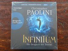 """Christopher Paolini""""INFINITUM - Die Ewigkeit der Sterne""""5 mp3-CDs,OVP,ohne Porto"""