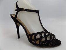 Zigi Soho Deacon HEELS Sandal  Women's Size 8.0 M Black NEW DISPLAY  D6118