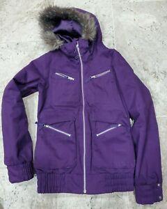 GORGEOUS PURPLE BURTON DRYRIDE PARKA SNOWBOARD JACKET WOMEN'S SIZE SMALL!!!!!!!!