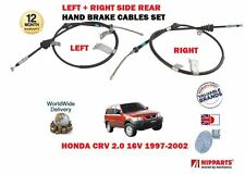FOR HONDA CRV 2.0 16v RD 1997-2002 NEW 2x REAR LEFT+ RIGHT SIDE HAND BRAKE CABLE