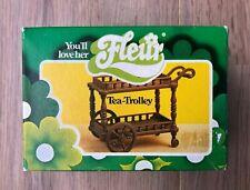 Fleur, Tea-Trolley, Vintage, Otto Simon, 70's