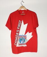 Vintage 1992 Toronto Blue Jays World Series Canadas First Shirt Mens Size Large