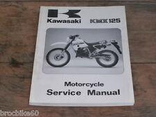 MANUEL REVUE TECHNIQUE D ATELIER KAWASAKI KMX 125 1986 - 1995 service manual