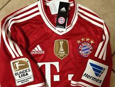 Germany FC bayern Munich Shirt S,M,L,XL Robben Holland Trikot jersey Fifa Club