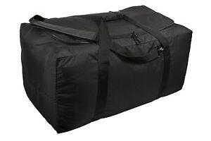 """Rothco 8249 Modular Gear Bag - Black - 33""""X16""""X15"""" - Made Of 900 Polyester"""