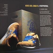 Flyer ASICS GEL SAGA II x Footpatrol '12